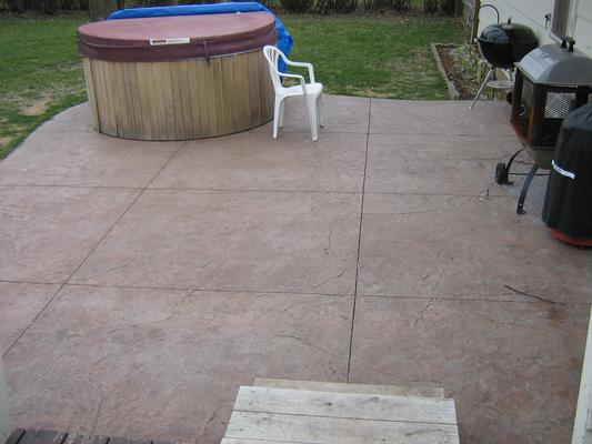 Beautiful Concrete Patio Colors Pictures - Ancientandautomata.com ...